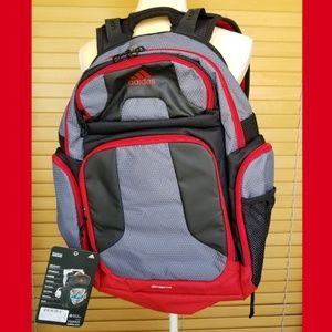 adidas Climacool Strength Backpack onix/scarlet